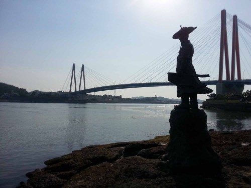 Yi Sun-shin and Jindo Bridge