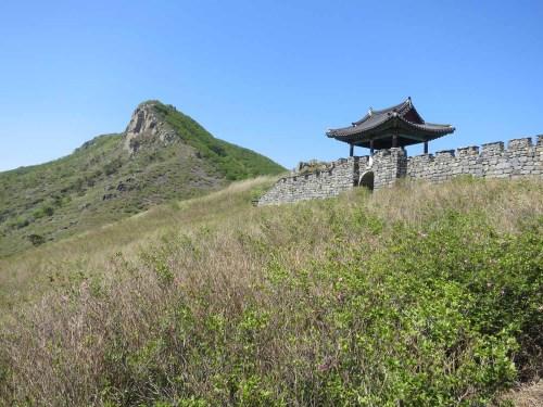 Hwangmaesan's peak.