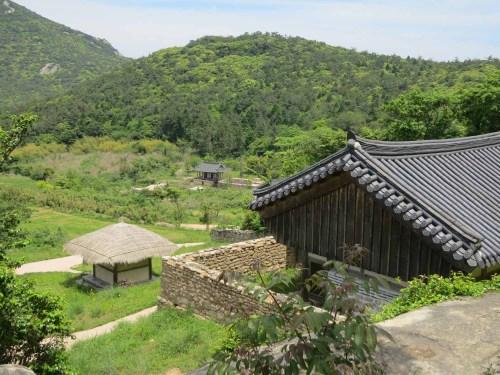 The view from Soeunbyeong towards the Goksudang