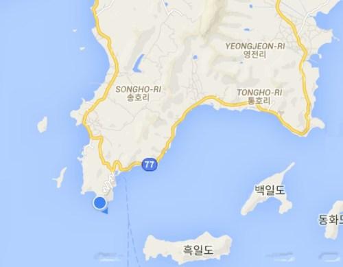 Google Map at Lands End