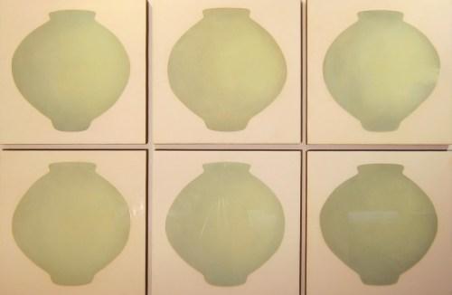 Ik-Joong Kang: 6 Moon Jars, 2014