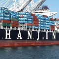 Thumbnail for post: British artist at sea with Hanjin Shipping