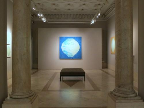 Installation view of Kang Ik-joong's exhibition at Robilant + Voena