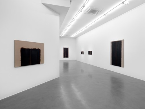 Installation view of Yun Hyong-keun at Simon Lee Gallery