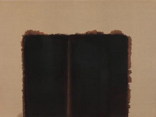 Yun Hyong-keun: Burnt Umber & Ultramarine Blue, 1992