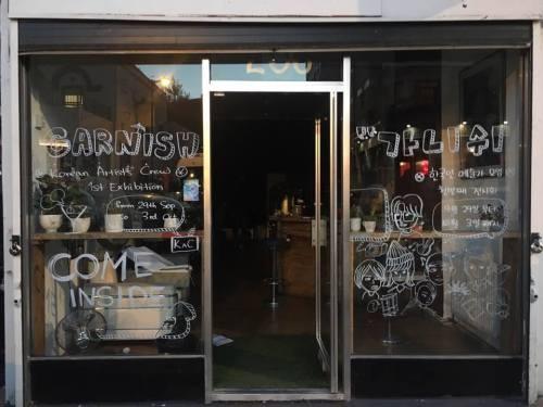 Garnish shopfront