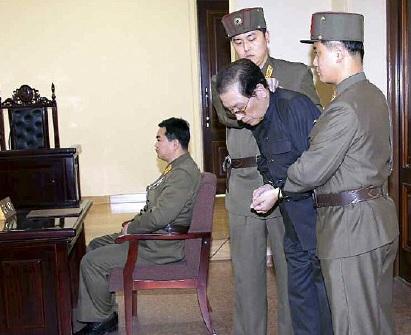 Jang Songtaek arrest
