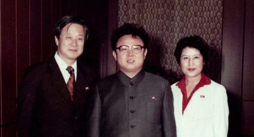 With Kim Jong-il