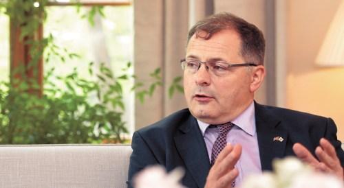 Ambassador Charles Hay