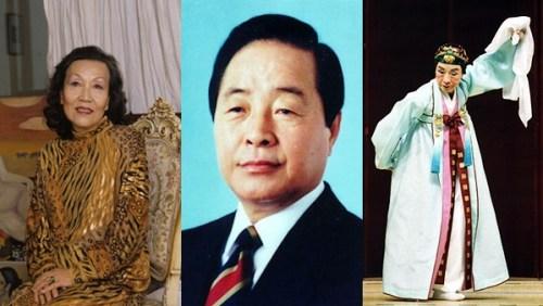 Chun Kyung-ja, Kim Young-sam and Lee Mae-bang