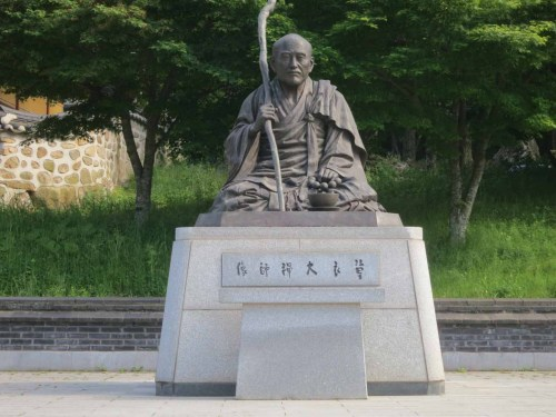 The statue of Choui in Daeheungsa