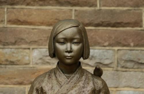 comfort woman statue
