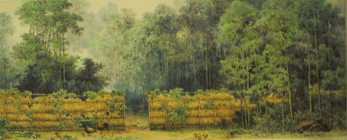 Chun Young: Early Summer Day of Hawks' Woods