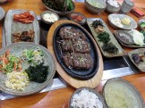 Tteokgalbi in Sancheong