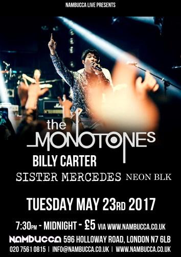 Monotones poster