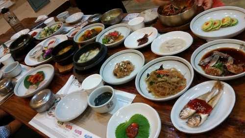 Dinner in Jeonju