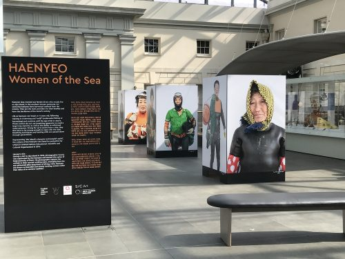 Featured image for post: Exhibition visit: Haenyeo, Women of the Sea, at National Maritime Museum