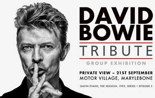 David Bowie tribute poster
