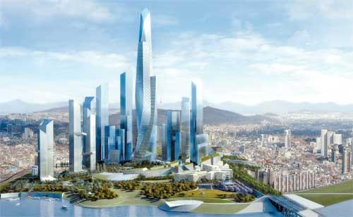 Yongsan development rendering