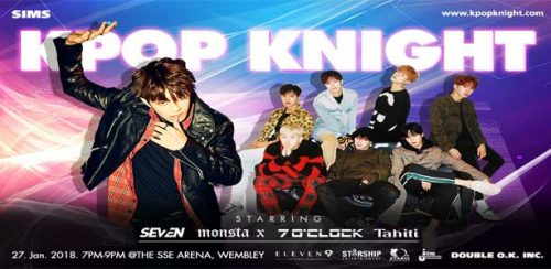 Featured image for post: Event news: K-Pop Knight at Wembley Arena