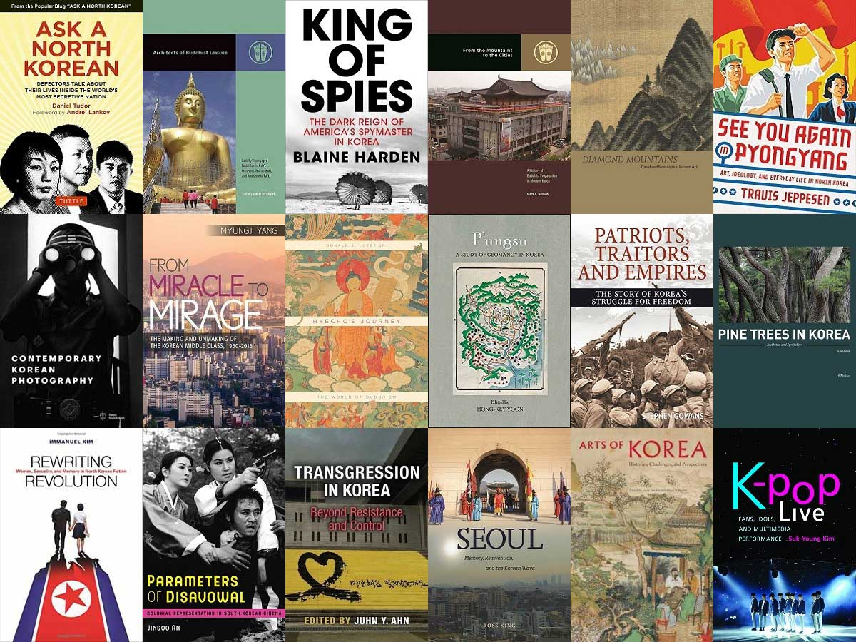 New and upcoming non-fiction titles for 2018 | London Korean