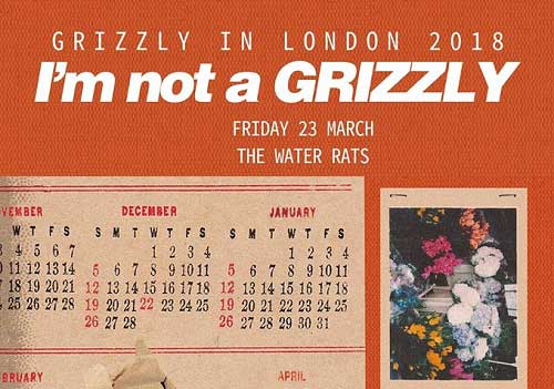 Featured image for post: Grizzly plays at The Water Rats