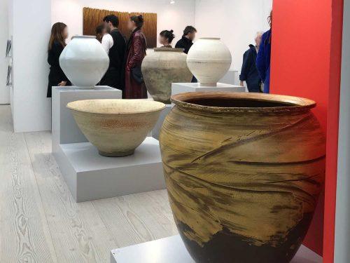 Jars by Seo Kwang-su, Yu Yong-cheol and Kwak Kyung-tae