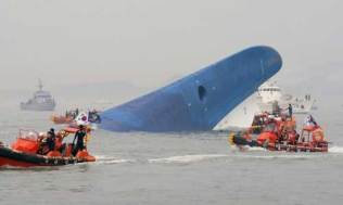 The Sewol sinking