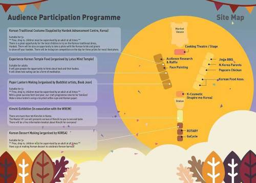 Kingston Harvest Festival map