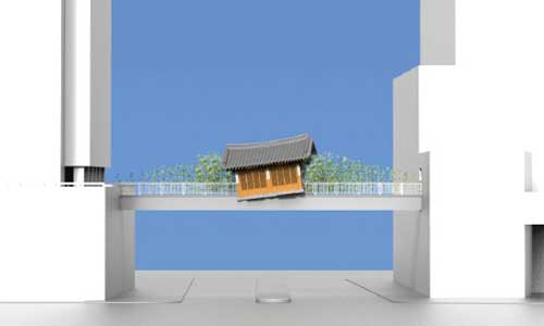 Post image for Do Ho Suh: Bridging Home, London to be installed near Liverpool Street