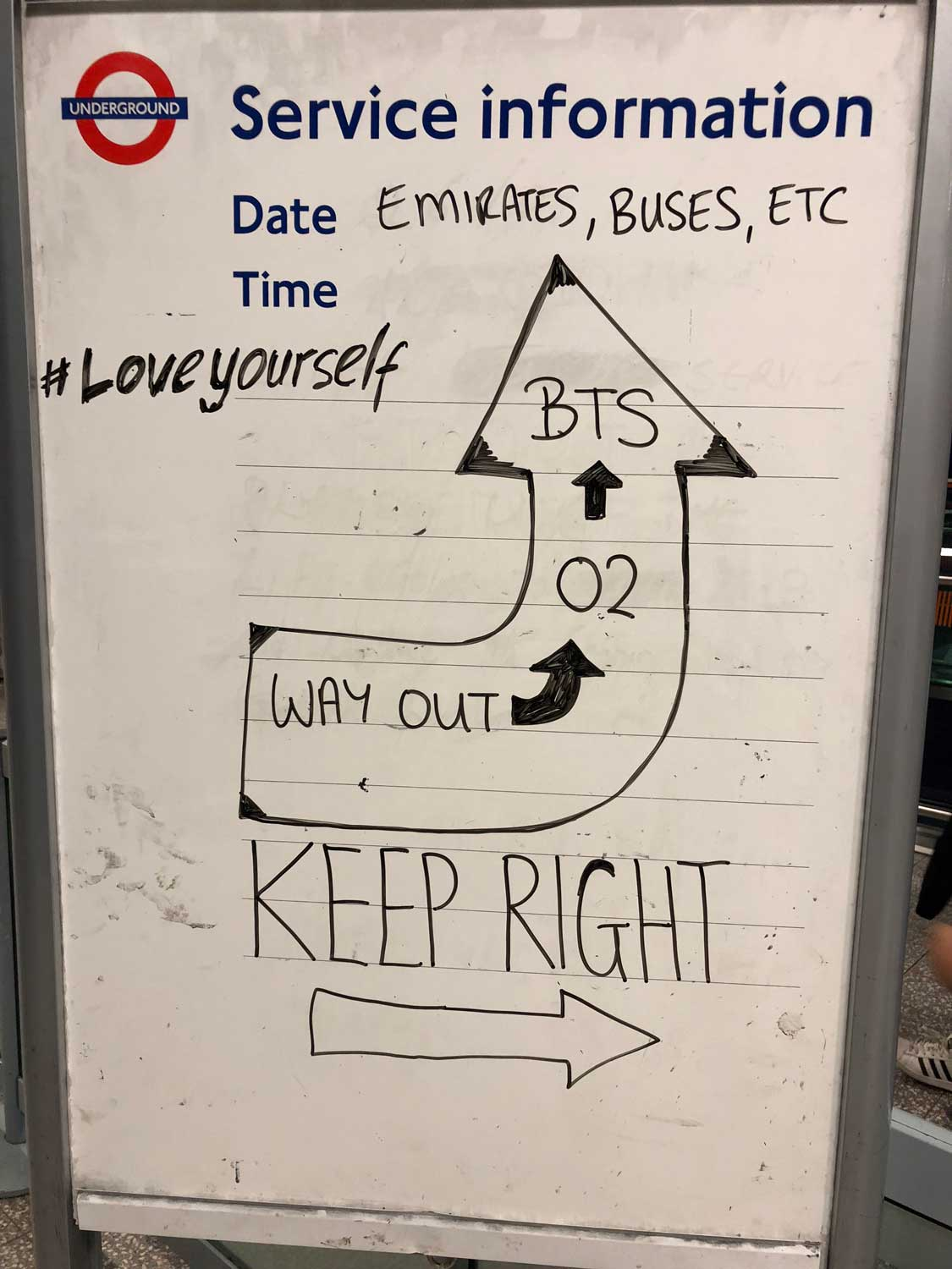 The BTS Love Yourself o2 concert – a fresh perspective