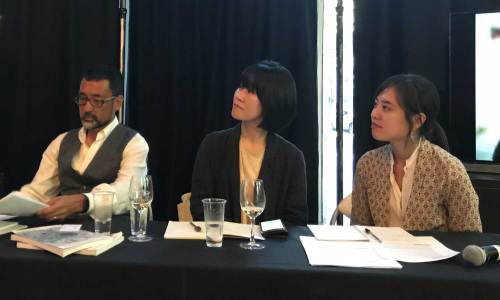 Phillip Kim, Kim Aeran and Rho Seh-hyun