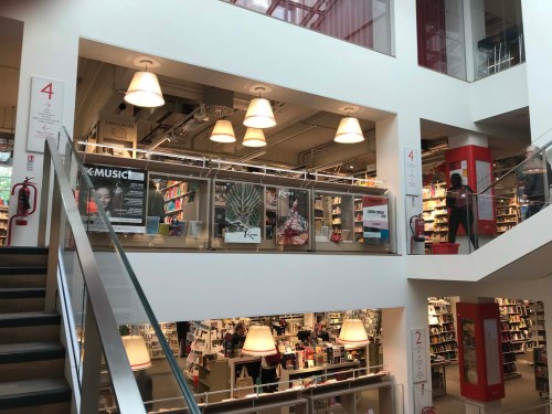 Foyles fourth floor
