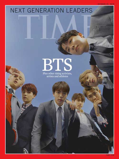 BTS in Time Magazine