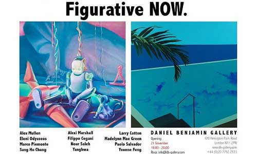 Post image for Yanghwa and Sang Ho Chung in Figurative NOW, at Daniel Benjamin Gallery