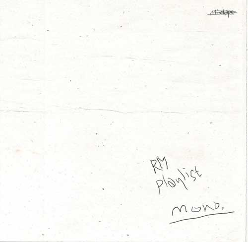 Transitions and Intermissions: The Front Cover of Mono