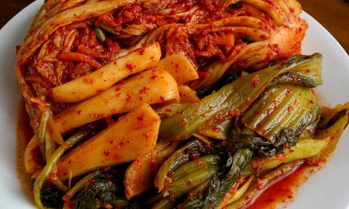 3 kinds of kimchi