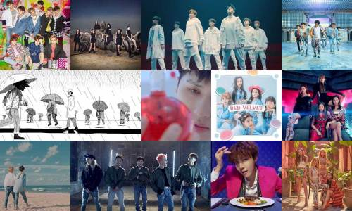 Top K-pop videos of 2018
