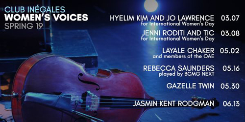 Club Inegales poster March 2019