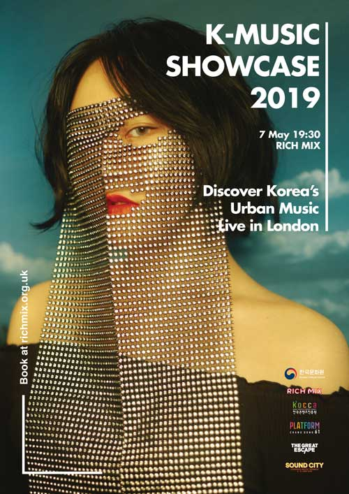 K-Music Showcase 2019 poster