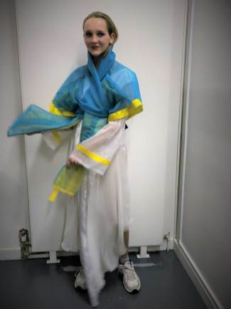 Hanbok design by Mathilde Baud & Justin Rivera