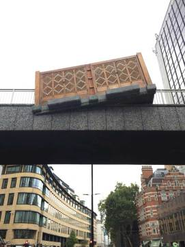 Suh Doho: Bridging Home, London in mid-installation