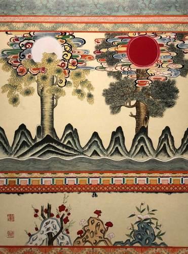 Ilwolbusangdo, by Han Jinhee