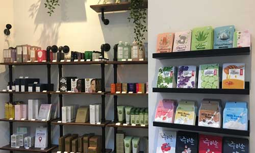 SOKOLLAB store wall