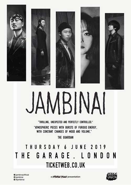 Jambinai at the Garage - poster