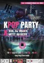 Kpop party poster
