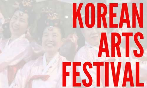 Korean Arts Festival poster