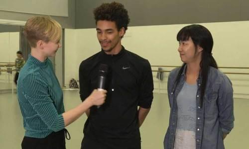 Simone Damberg Würtz talking with Liam Francis and Bongsu Park