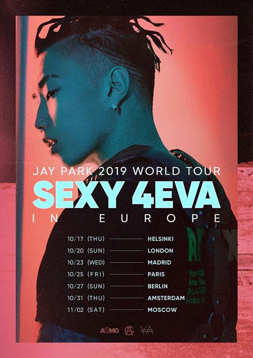 Jay Park Tour Poster
