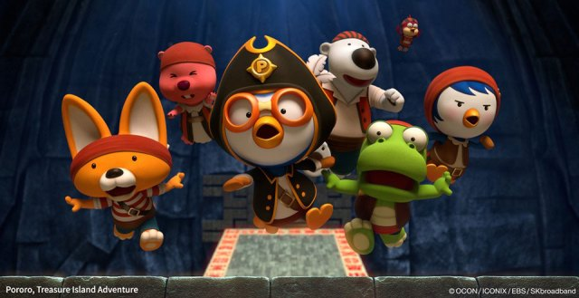 Pororo's Treasure Island Adventure